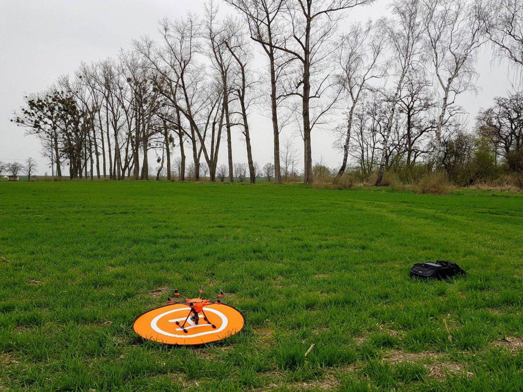 Wykorzystanie drona w geodezji pozwala na przygotowanie ortofotomapy
